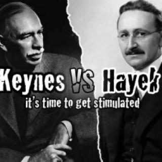 keynes vs hayek
